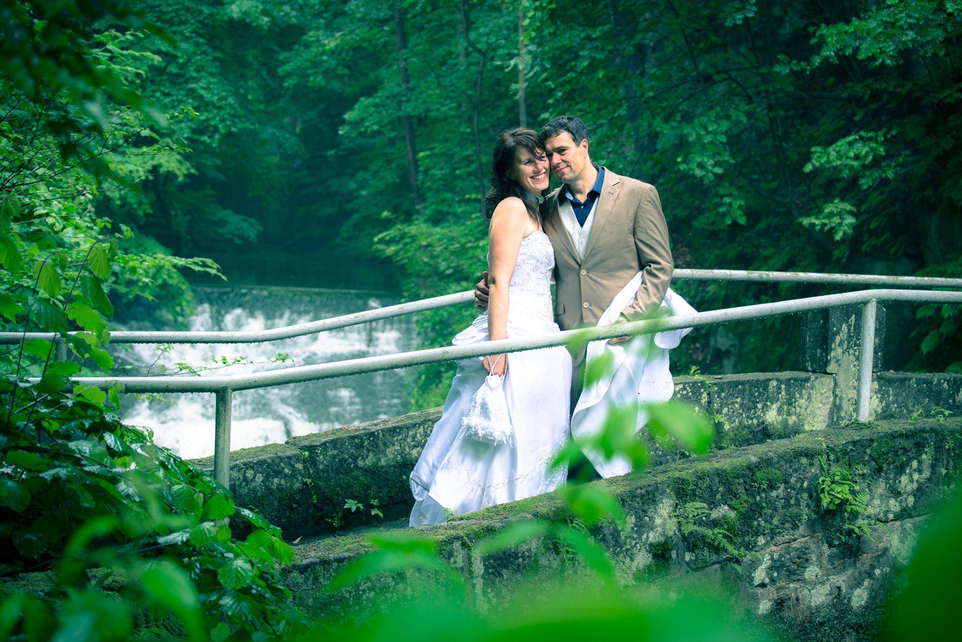 Hochzeit im Liebethaler Grund bei Pirna