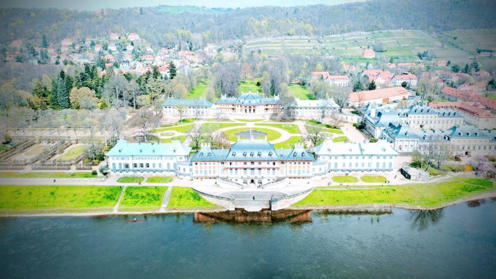 Dresden Pillnitz, Hochzeitsfotos und die Elbe
